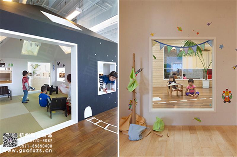 幼儿园装修设计之艺术元素装饰